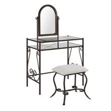 See Details - Clarisse Metal Vanity Set
