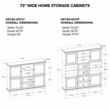 HS73S Custom Home Storage Cabinet