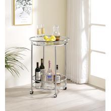 See Details - Lewes Round Server Bar Cart