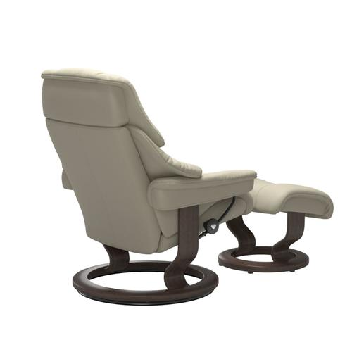 Stressless By Ekornes - Stressless® Reno (M) Classic chair with footstool