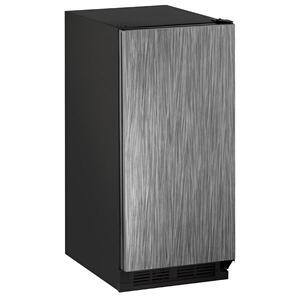 """U-LineClr1215 15"""" Clear Ice Machine With Integrated Solid Finish, Yes (115 V/60 Hz Volts /60 Hz Hz)"""