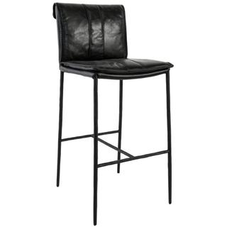 "Mayer 30"" Bar Stool Black"