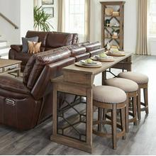 See Details - SUNDANCE - SANDSTONE Everywhere Console with 3 Stools