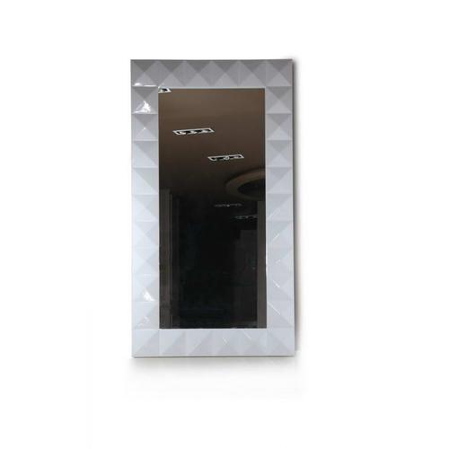 VIG Furniture - Versus Eva - Vertical Standing White Lacquer Floor Mirror