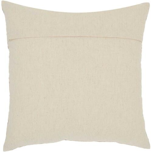 "Royal Palm Ns829 Natural 18"" X 18"" Throw Pillow"