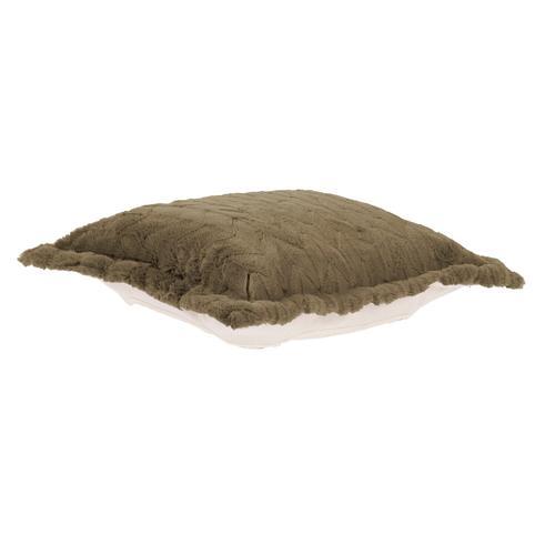 Howard Elliott - Puff Ottoman Cushion Angora Moss (Cushion and Cover Only)