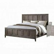 ACME Bayonne California King Bed - 23884CK - Burnt Oak