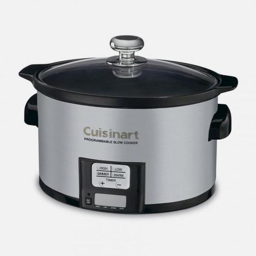 Cuisinart - 3.5 Quart Programmable Slow Cooker