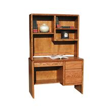 "O-C100 Modern Oak 45"" 2-Drawer Junior Computer Desk"