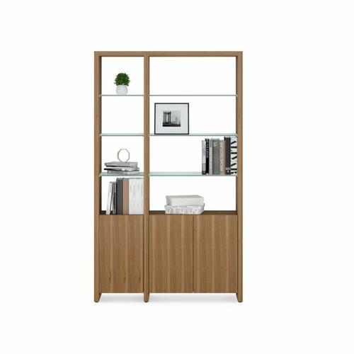 BDI Furniture - Linea Shelves 5801A Single Shelf Extension in Natural Walnut