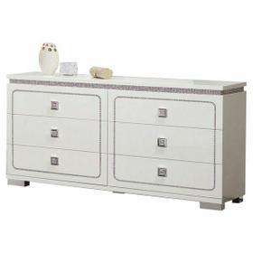 ACME Valentina Dresser - 20255 - White High Gloss