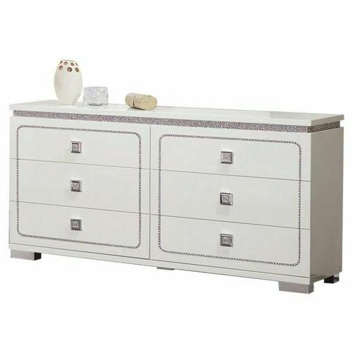 ACME Valentina Dresser - 20255 - White High Gloss