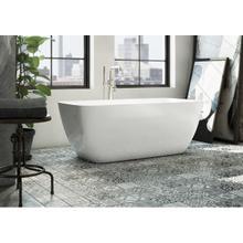 See Details - Taos Floor-mount Tub Filler with Handshower - Matte Black