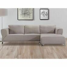 ACME Josiah Sectional Sofa - 55095 - Sand Fabric