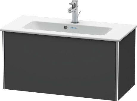 Product Image - Vanity Unit Wall-mounted Compact, Graphite Matte (decor)