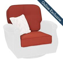 Breckenridge Patio Swivel Rocker Replacement Cushion Set
