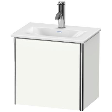 Vanity Unit Wall-mounted, White Satin Matte (lacquer)