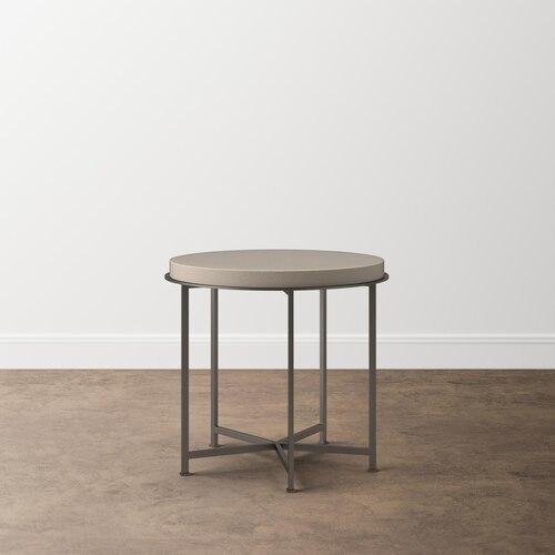 "Bassett Furniture - MODERN Emilia 24"" Axel Side Table"