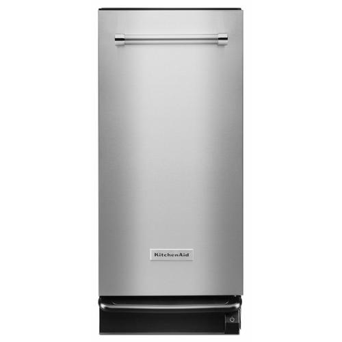 KitchenAid Canada - 1.4 Cu. Ft. Built-In Trash Compactor - Stainless Steel