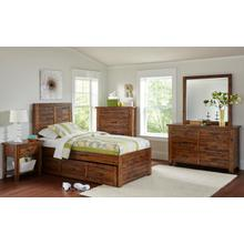 Sonoma Creek Twin Panel Bed