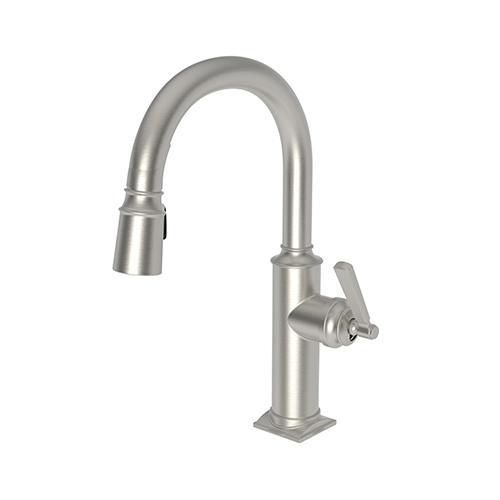 Newport Brass - Satin Nickel - PVD Prep/Bar Pull Down Faucet