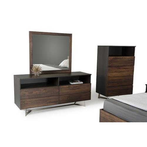 VIG Furniture - Modrest Wharton Modern Dark Aged Oak Dresser