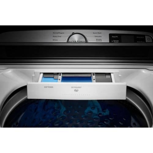 Maytag 4.7CF White Top Load Washer with Extra Power Button
