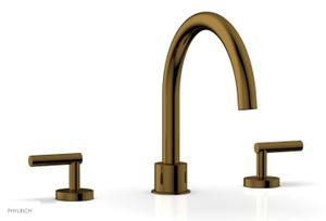 TRANSITION - Deck Tub Set - Lever Handles 120-41 - French Brass Product Image