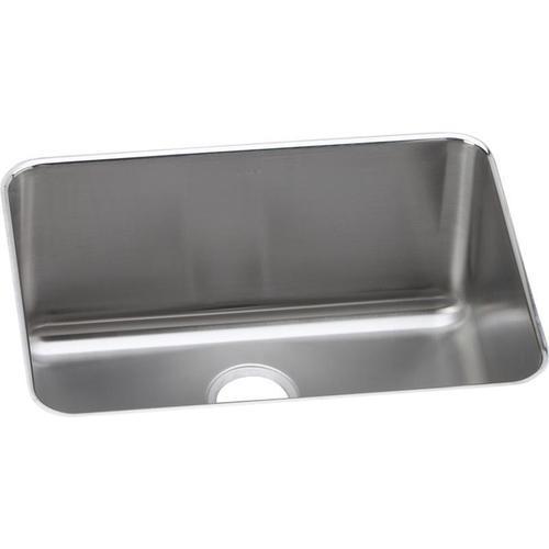"Elkay Lustertone Classic Stainless Steel 25-1/2"" x 19-1/4"" x 12"", Single Bowl Undermount Sink"