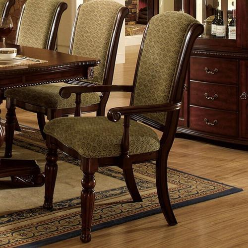 Furniture of America - Majesta Arm Chair (2/box)