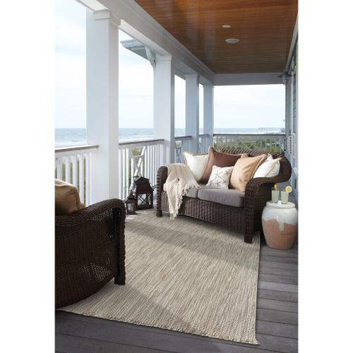 "Seagrove Oyster - Vertical Stripe Rectangle - 24"" x 36"""