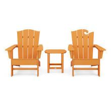 View Product - Wave Collection 3-Piece Set in Vintage Tangerine