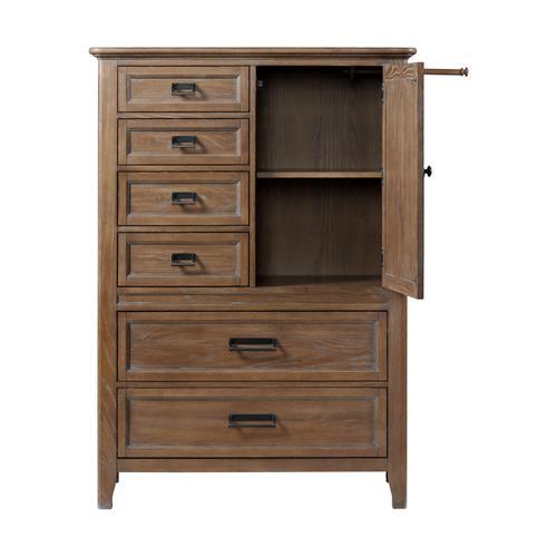 Intercon Furniture - Alta Gentleman's Chest  Harvest