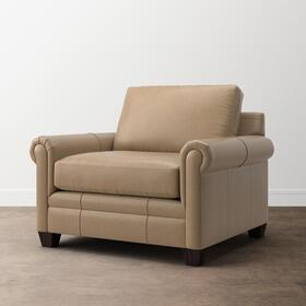 CU.2 Leather Chair and a Half