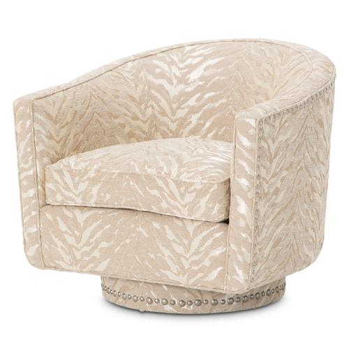 Swivel Chair Brushed Nickel Nails