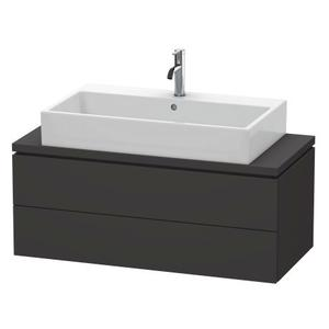 Vanity Unit For Console Compact, Graphite Super Matte