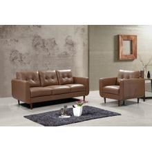 Product Image - Divani Casa Lyman - Modern Brown Sofa Set