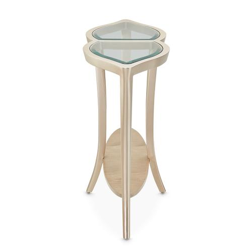 Console Table W/glass