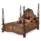 Queen Poster Bed (3 Pc)