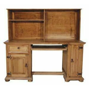 Million Dollar Rustic - Computer Desk W/ Hutch