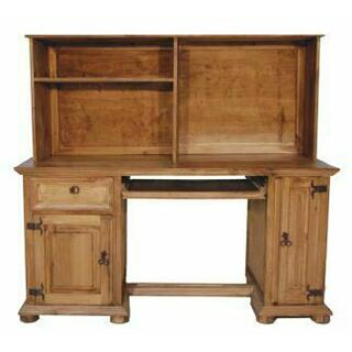 See Details - Computer Desk W/ Hutch