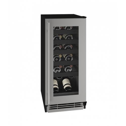 "Hwc115 15"" Wine Refrigerator With Stainless Frame Finish (115v/60 Hz Volts /60 Hz Hz)"