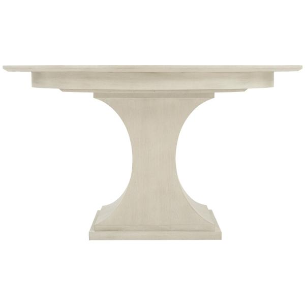 See Details - East Hampton Round Dining Table in Cerused Linen (395)