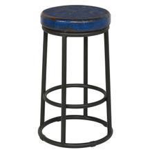 See Details - Jaden 24\u0022 Counter Stool Dark Blue