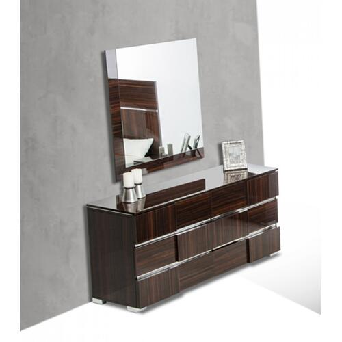 VIG Furniture - Modrest Picasso Italian Modern Ebony Lacquer Dresser