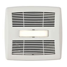 Flex Series Single-Speed Bathroom Exhaust Fan with LED Light 80 CFM 0.8 Sones ENERGY STAR Certified