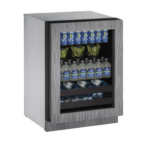 "24"" Beverage Center With Integrated Frame Finish (230 V/50 Hz Volts /50 Hz Hz)"