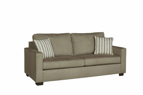 Sofa - Shown in 109-11 Stone Microfiber Finish