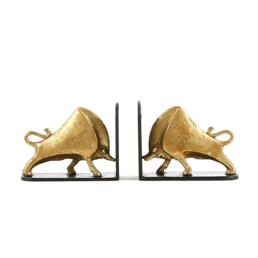 See Details - Bisoni Bookends, Gold