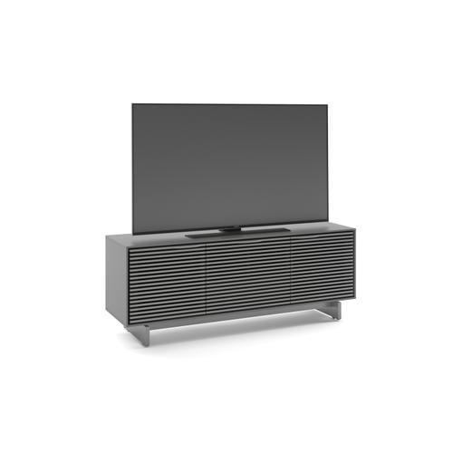 BDI Furniture - Align 7477 Media + Storage Console in Fog Grey Media Base